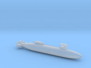 SSN-672 PINTADO MODEL 1800 FULL HULL 20180804 in Smooth Fine Detail Plastic