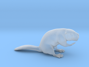 Beaver Sitting Ground in Smoothest Fine Detail Plastic: 1:64 - S