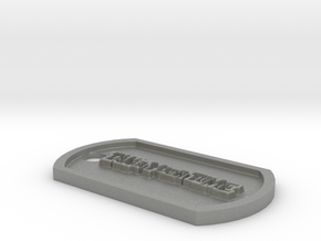 Persona 5 'Take Your Time' Themed Dog Tag in Gray Professional Plastic