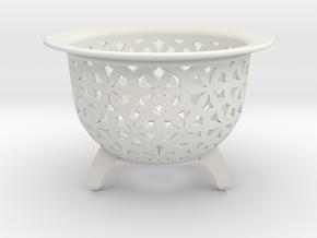 Neo Pot Stars 3 in in White Natural Versatile Plastic