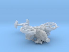 Scorpion Gunship V1 285 scale in Smooth Fine Detail Plastic