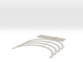 Knapford Roof Kit - Type 3 (Inside Section 2) in Natural Sandstone