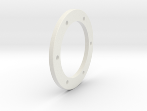 Beadlock_Ring_01_back in White Natural Versatile Plastic