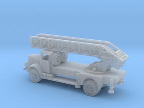 1/144 Mercedes 4500 DL 22 Drehleiter / fire engine in Smooth Fine Detail Plastic
