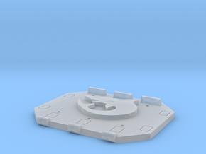 Shark Jericho Tank rear door in Smooth Fine Detail Plastic