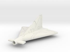 (1:144) Lippisch Li P.13a (Version with Canards) in White Natural Versatile Plastic