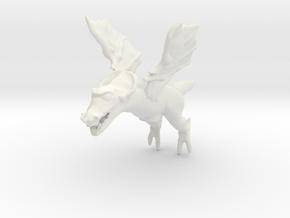 Omni Scale Space Dragon Baby Female MGL in White Natural Versatile Plastic