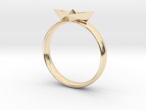 Paper Boat Ring in 14K Yellow Gold: 3 / 44