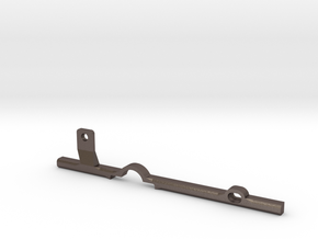 ThumbRail -fits Fender Precision in Polished Bronzed Silver Steel