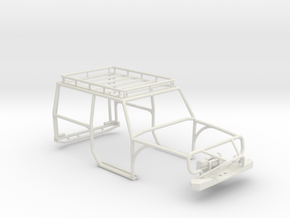Orlandoo Jeep OH35A01 Exocage - Full Package in White Natural Versatile Plastic
