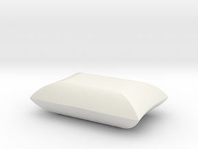 Sand Bag in White Natural Versatile Plastic: 1:50