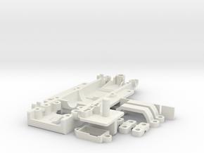 GRC_Renault_R5_Heller in White Natural Versatile Plastic