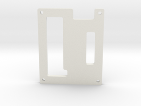12_ChanServo_ControllerEnclosure_Cover.ipt in White Natural Versatile Plastic