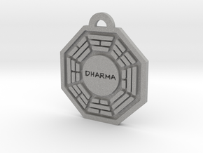 Lost, Dharma Initiative keychain decoration in Aluminum
