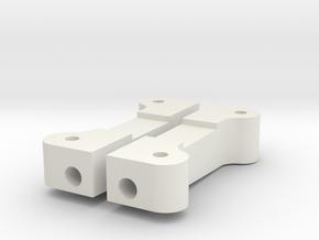Reborn91, MOUNTS, ARMS, REAR in White Premium Versatile Plastic