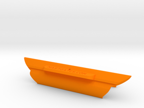 "4"" slot: DM5, Potter 19, Sanibel 18, Sturdee Cat,  in Orange Processed Versatile Plastic"