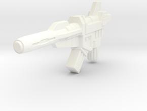 TR Twinferno Blaster in White Processed Versatile Plastic
