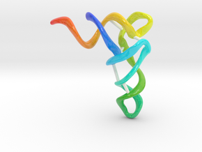 tRNA in Glossy Full Color Sandstone: Extra Small