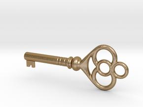 Cupboard Key (Indian in the Cupboard, 1995) in Polished Gold Steel