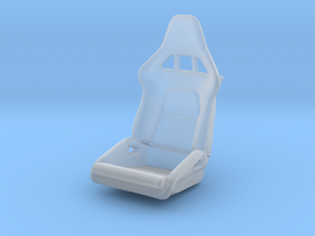 Race Seat P-RS-Type LEFT-Version - 1/24  in Smooth Fine Detail Plastic