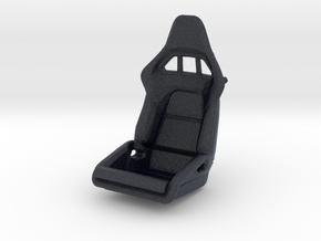 Race Seat P-RS-Type LEFT-Version - 1/24  in Black Professional Plastic
