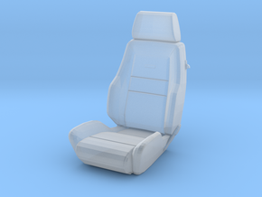 Sport Seat - RType2 - 1/24 in Smooth Fine Detail Plastic