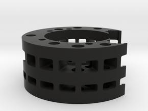 89 Sabers Graflex NB4 and 18650 extension alternat in Black Natural Versatile Plastic