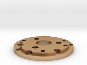 Chassis disk  in Natural Bronze