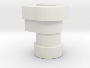 TR rollbar neck to POTP roadtrap in White Natural Versatile Plastic