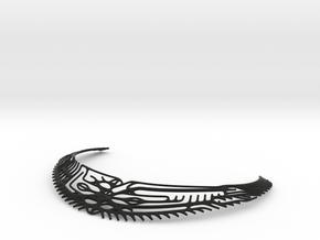 Nordic Necklace in Black Natural Versatile Plastic