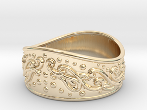 Knight bracelet in 14K Yellow Gold: Extra Small