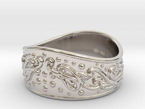 Knight bracelet in Platinum: Large