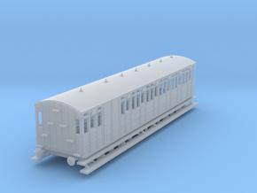 o-148fs-metropolitan-8w-long-brake-coach in Smooth Fine Detail Plastic