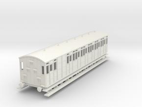 o-76-metropolitan-8w-long-brake-coach in White Natural Versatile Plastic