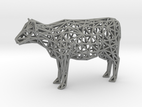 Cow in Gray Professional Plastic