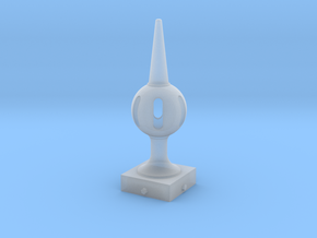 Signal Finial (Pierced Ball) 1:22.5 scale in Smooth Fine Detail Plastic
