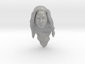 Wonder Woman Head in Aluminum