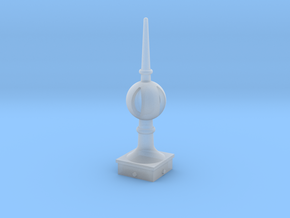 Signal Finial (Open Ball) 1:22.5 scale in Smooth Fine Detail Plastic