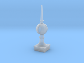 Signal Finial (Open Ball) 1:6 scale in Smooth Fine Detail Plastic