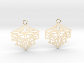 Adalina earrings in 14K Yellow Gold: Small
