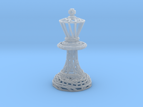 King in Smooth Fine Detail Plastic