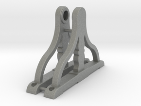 Ship's Wheel Supports 1:24 scale in Gray PA12