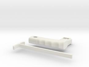 Bey Launcher in White Natural Versatile Plastic