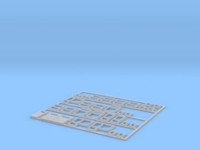 1:220-WINDOWS/DOORS for Polish house - PRL  in Smooth Fine Detail Plastic