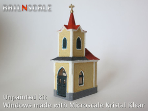 Kapelle zum gegeißelten Heiland (N 1:160) in White Strong & Flexible