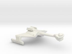 3125 Scale Romulan KCR Heavy Battlecruiser, Smooth in White Natural Versatile Plastic