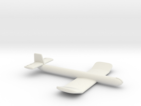 (1:144) Junkers EF043 in White Natural Versatile Plastic
