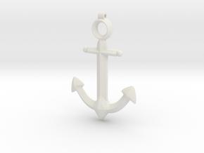 Anchor Pendant - Jaina - World of Warcraft in White Natural Versatile Plastic