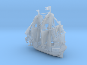Sail ship in high detail in Smooth Fine Detail Plastic