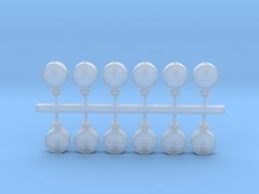 12 Lampenkästen für bayerische Sperrsignale in Smoothest Fine Detail Plastic